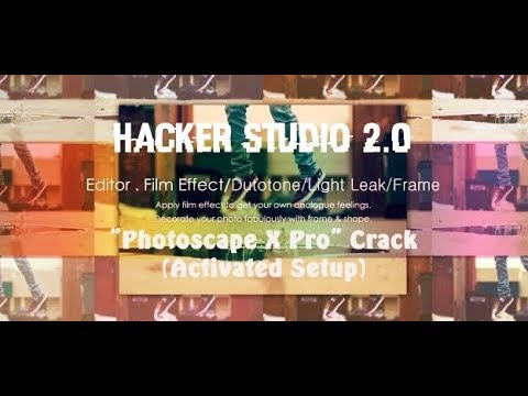 Photoscape X Pro Crack | All-in-one photo editing software which provides photo-related features