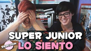 Video SUPER JUNIOR (슈퍼주니어) - LO SIENTO (FT. LESLIE GRACE) ★ MV REACTION MP3, 3GP, MP4, WEBM, AVI, FLV April 2018