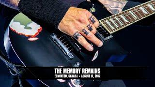 Metallica - The Memory Remains (Live - Edmonton, Canada) - MetOnTour