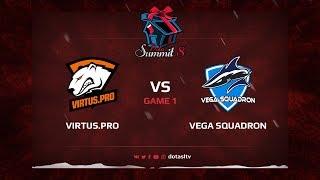 Virtus.pro против Vega Squadron, Первая карта, Квалификация на Dota Summit 8