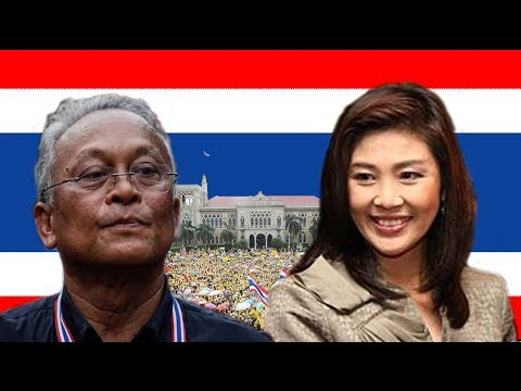 Taiwanese animation on Yingluck and Thai political crisis