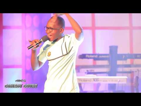 Comedian OB jokes at The Lord of the Ribs 2016