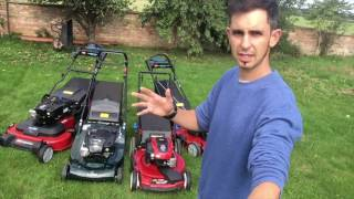 5. Mower road test for car owners: Rwd Vs Fwd Vs AWD garden petrol mowers