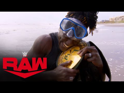 Is a shark chasing R-Truth's 24/7 Title?: Raw, Sept. 21, 2020