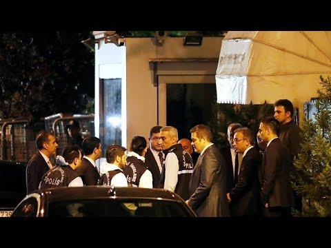 Υπόθεση Κασόγκι: Στο προξενείο της Σ. Αραβίας η τουρκική αστυνομία…