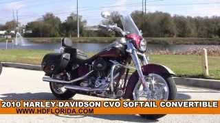 7. Used 2010 Harley Davidson CVO Softail Convertible Motorcycles for sale