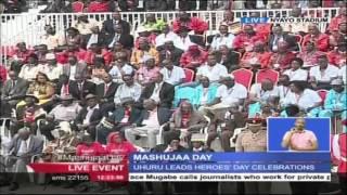 Deputy President William Ruto's Speech At The 2015 Mashujaa Day Celebrations
