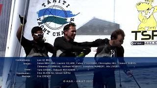 L'équipage de Trésors de Tahiti relance le match ! C'est sous un soleil radieux et dans un vent capricieux que les 29 équipages du Tour de France à la Voile ont pris part ce dimanche aux Stades Nautiques d'Arzon – Port du Crouesty, en baie de Quiberon. Deuxième du Raid Côtier hier et brillant vainqueurs des Stades Nautiques aujourd'hui, Trésors de Tahiti remporte haut la main l'Acte 4 du Tour.La journée est à oublier pour le Team SFS qui a volé le départ de la Finale puis a écopé de 9 points de pénalité (infraction à la règle d'utilisation du kit de mouillage). Trésors de Tahiti est ce soir le nouveau leader, avec 6 points d'avance sur Team SFS. Le match est totalement relancé !Respectivement 3e et 4e au Général, Team Oman Sail et Fondation FDJ – Des Pieds et Des Mains restent en embuscade. Pas le temps de souffler pour les marins qui quittent ce soir la Bretagne pour rejoindre les Sables d'Olonne en Vendée, cadre dès demain de l'Acte 5 de cette passionnante et indécise 40ème édition.