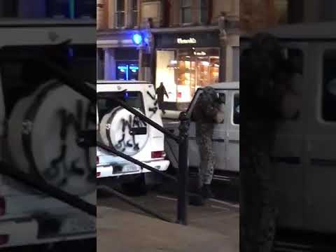 Street fight in London