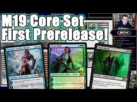 M19 Core Set Prerelease First Attempt / How-to Guide!