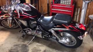 5. Cold start 2006 Honda VTX 1800C (part 2)
