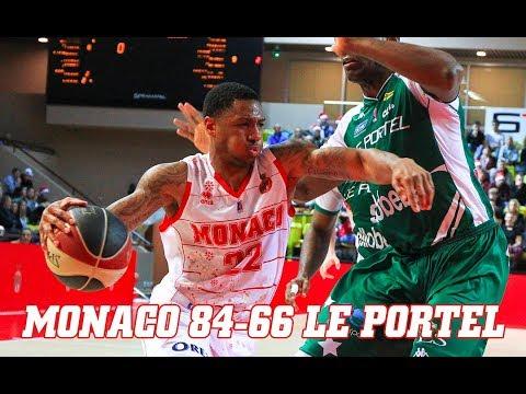 Pro A — Monaco 84 - 66 Le Portel — Highlights