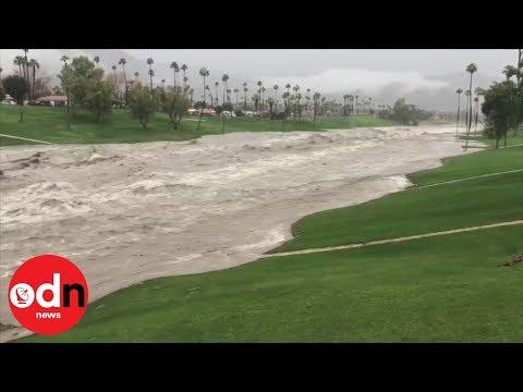 Storm causes devastating flash floods and mudslides in California