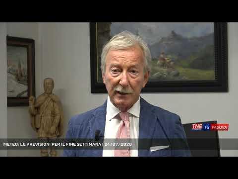 METEO: LE PREVISIONI PER IL FINE SETTIMANA | 24/07/2020