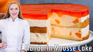 Mandarin Mousse Cake by Tatyana's Everyday Food