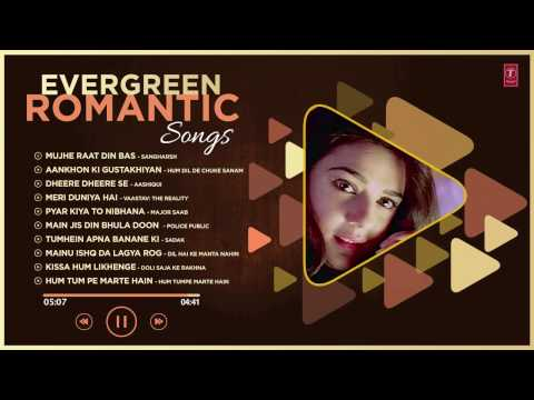 Hindi Romantic Songs  Audio Jukebox  90's Super Hit