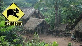 Luang Namtha Laos  city photos : Tour du monde ✈ 70 jours au Laos | Luang Namtha | Maryse & Dany Voyage