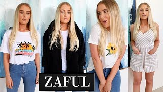 Huge ZAFUL Clothing Try On Haul! by Lauren Curtis