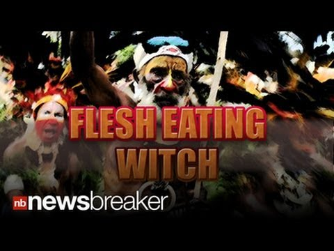 WITCH SAVED: Villagers in New Guinea Torture Self Proclaimed Sorcerer for Eating Children's Hearts