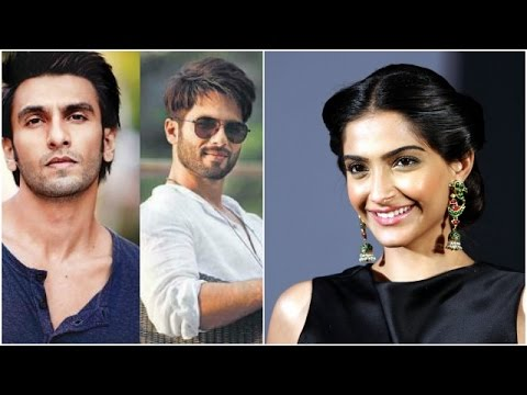 Shahid And Ranveer The Only A listers At Deepika's