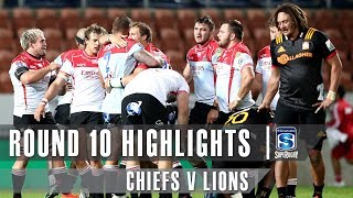 Chiefs v Lions Rd.10 2019 Super rugby video highlights | Super Rugby Video Highlights