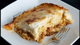 Baked Macaroni (Makarooni Alfoorno)  