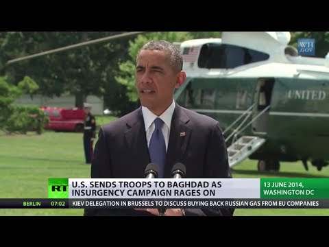 US troops heading back to Iraq as ISIS expands control