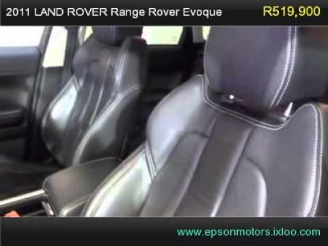 2011 LAND ROVER Range Rover Evoque 2.0 SI4 DYNAMIC