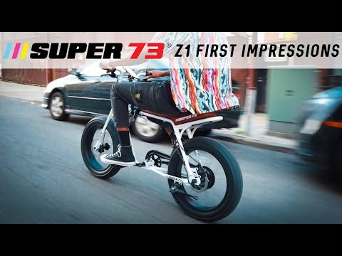 Super 73 Z First Impressions!