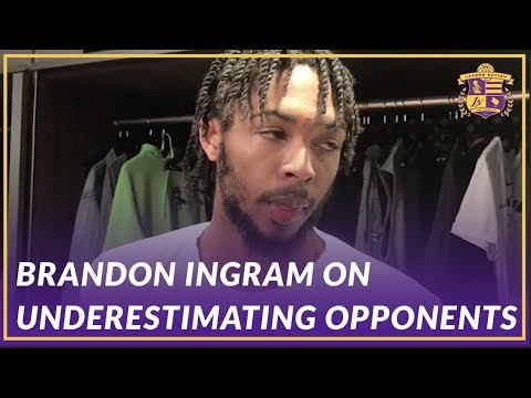 Video: Lakers Post Game: Brandon Ingram on Underestimating Opponents from the Start of the Game