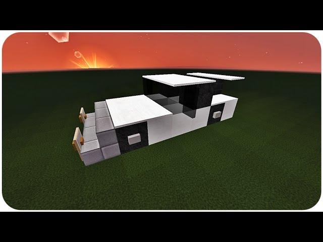 Minecraft tuto comment faire une belle voiture - Comment faire une belle chambre minecraft ...