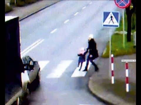 Chciała z dzieckiem wejść na pasy! Gdyby nie jej czujność i refleks doszło by do tragedii!