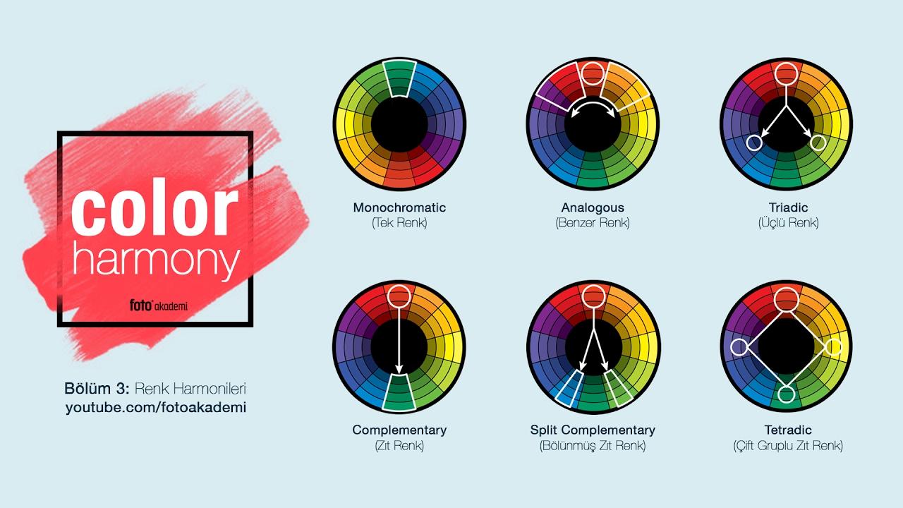 Color Master - Renk Uyumu ve Harmonisi - (Bölüm 3)