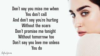 Video Don't Say You Love Me - Fifth Harmony (Lyrics) MP3, 3GP, MP4, WEBM, AVI, FLV Juni 2018
