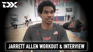 Jarrett Allen NBA Pre-Draft Workout and Interview