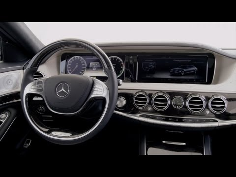 2014 Mercedes S 400 Hybrid INTERIOR