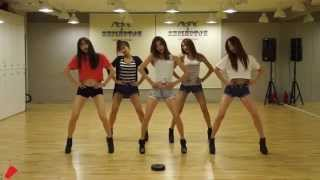 EXID 'Up & Down' mirrored Dance Practice