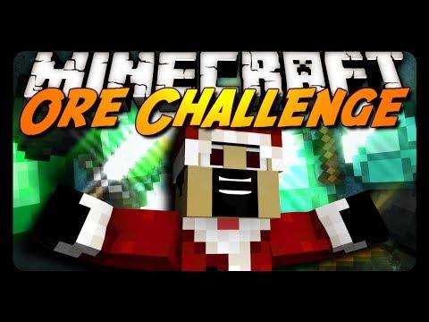 Minecraft: Ore Speedrun Challenge #3 - CHRISTMAS EDITION! w/ CavemanFilms!
