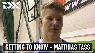 Getting to know: Matthias Tass