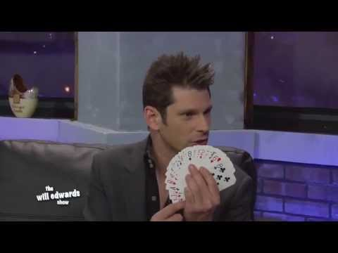 Comedy Magician, Mike Hammer - Las Vegas Talk Show - The Will Edwards Show