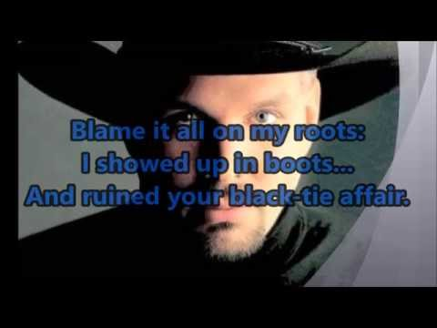 Garth Brooks – Friends in Low Places (With Pics and Lyrics)