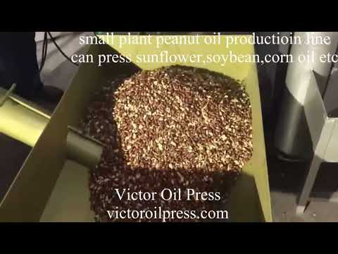 peanut oil production line for small plant,press soybean,sunflower