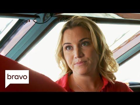 Below Deck Mediterranean: Hannah Reports Danny to the Captain (Season 1, Episode 9)   Bravo