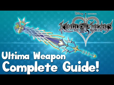 complete - Here is my Complete Ultima Weapon guide for Kingdom Hearts 2 Final Mix. This guide includes everything you'll need to create the Ultima Weapon. Item Locations: http://kingdomhearts.wikia.com/wik...