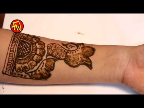 Video Beautiful Shaded Arabic Front Hand Henna Mehndi Design Tutorial download in MP3, 3GP, MP4, WEBM, AVI, FLV January 2017