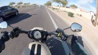 4. Ride & Review 2014 HARLEY DAVIDSON V-ROD .pt1