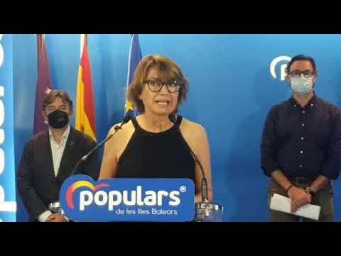 Duran explica las propuestas sanitarias y sociales para el XVI Congreso del PP Balears
