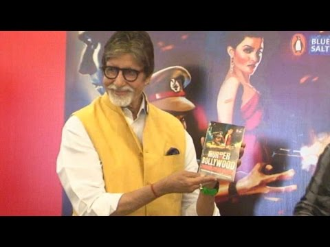 Amitabh Bachchan At The Book Launch Of Murder In B