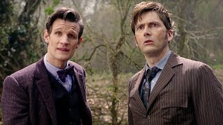 Eleventh Doctor Meets The Tenth Doctor