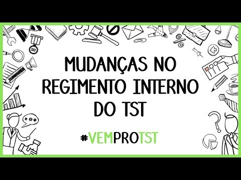 Mudanças no Regimento Interno do TST